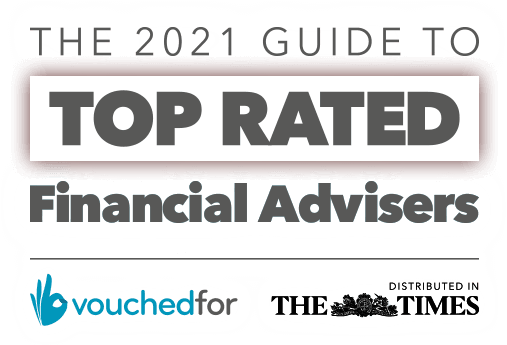 """Top Rated Financial Adviser"" – Vouchedfor"